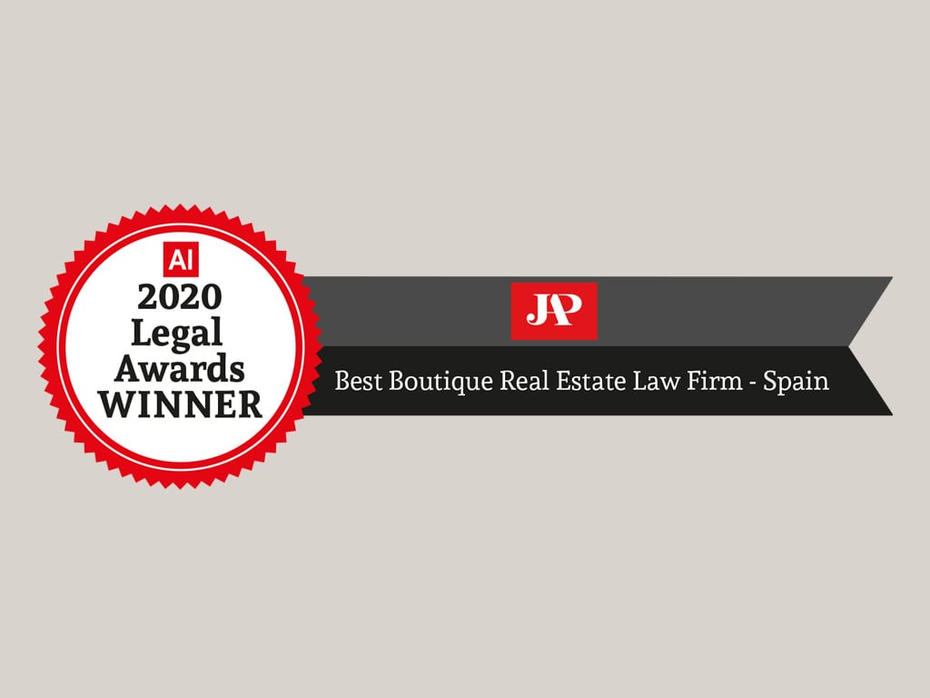 Best Boutique Real Estate Law Firm -Spain