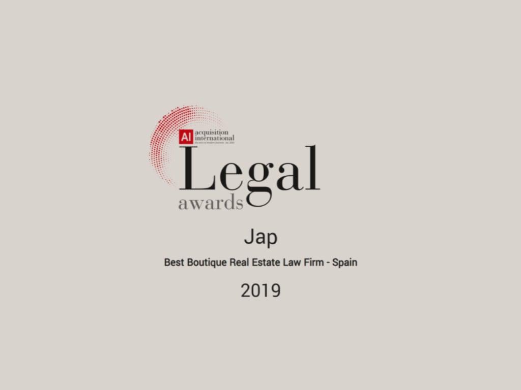 AI | Legal Awards - 2019